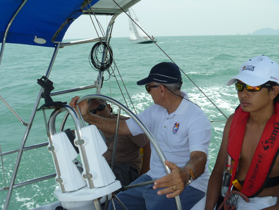 Sailing Education in race